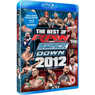 WWE - The Best Of The Raw + SmackDown 2012 (UK-import) (BLU-RAY)