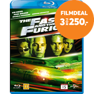 Produktbilde for The Fast And The Furious (BLU-RAY)