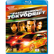 The Fast And The Furious - Tokyo Drift (DK-import) (BLU-RAY)