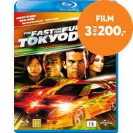 Produktbilde for The Fast And The Furious - Tokyo Drift (DK-import) (BLU-RAY)