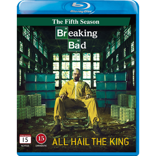Breaking Bad - Sesong 5 (BLU-RAY)