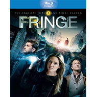 Fringe - Sesong 5 (UK-import) (BLU-RAY)