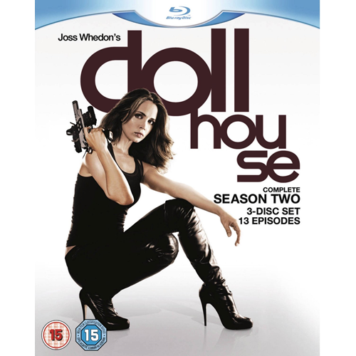 Dollhouse - Sesong 2 (UK-import) (BLU-RAY)