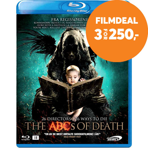 The ABC's Of Death (BLU-RAY)