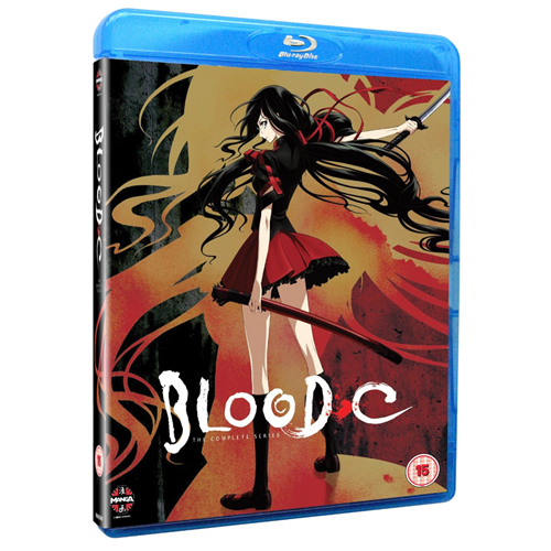 Blood C - The Complete Series (UK-import) (BLU-RAY)