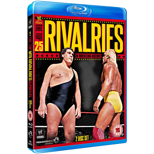 WWE - Top 25 Rivalries (UK-import) (BLU-RAY)