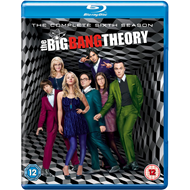 The Big Bang Theory - Sesong 6 (UK-import) (BLU-RAY)