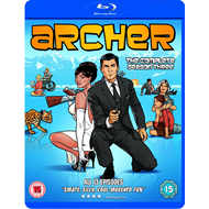 Archer - Sesong 3 (UK-import) (BLU-RAY)