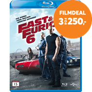Produktbilde for Fast & Furious 6 (BLU-RAY)