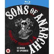 Sons Of Anarchy - The Complete Series (UK-import) (BLU-RAY)