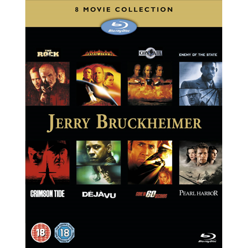 Jerry Bruckheimer Action Collection (UK-import) (BLU-RAY)
