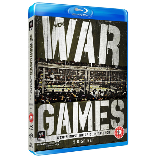 War Games - WCW's Most Notorious Matches (UK-import) (BLU-RAY)