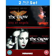 The Crow: City Of Angels / The Crow: Salvation (UK-import) (BLU-RAY)
