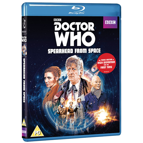 Doctor Who - Spearhead From Space (UK-import) (BLU-RAY)