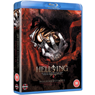 Hellsing Ultimate - Vol. 1 - 4 Collection (UK-import) (BLU-RAY)