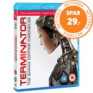 Terminator: The Sarah Connor Chronicles - Sesong 1 & 2 (UK-import) (BLU-RAY)