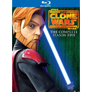 Star Wars - The Clone Wars - Sesong 5 (UK-import) (BLU-RAY)