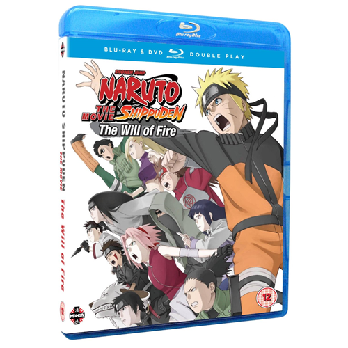 Naruto Shippuden - The Movie 3: The Will Of Fire (UK-import) (BLU-RAY)