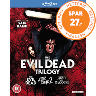 Produktbilde for The Evil Dead Trilogy (UK-import) (BLU-RAY)