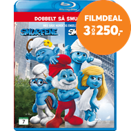 Produktbilde for Smurfene 1 & 2 (BLU-RAY)