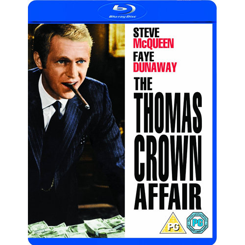 The Thomas Crown Affair (UK-import) (BLU-RAY)