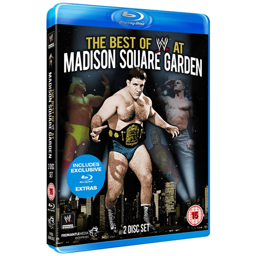 WWE - The Best Of WWE At Madison Square Garden (UK-import) (BLU-RAY)