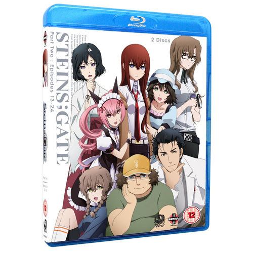Steins; Gate - Part 2 (UK-import) (BLU-RAY)