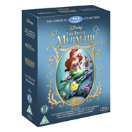 The Little Mermaid - The Complete Collection (UK-import) (BLU-RAY)