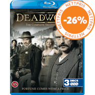 Produktbilde for Deadwood - Sesong 2 (BLU-RAY)
