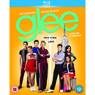 Glee - Sesong 4 (UK-import) (BLU-RAY)