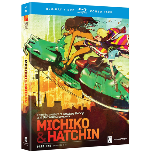 Michiko & Hatchin - The Complete Series Part 1 (BLU-RAY)