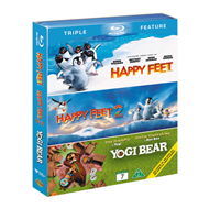 Happy Feet / Happy Feet 2 / Yogi Bear (BLU-RAY)