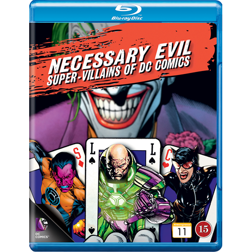 Necessary Evil - The Villains Of DC Comics (BLU-RAY)