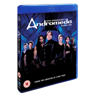 Andromeda - Sesong 2 (UK-import) (BLU-RAY)