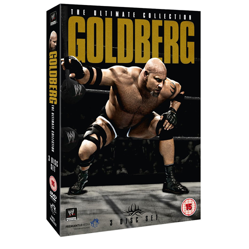 WWE - Goldberg: The Ultimate Collection (UK-import) (BLU-RAY)