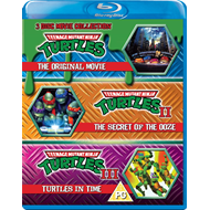 Produktbilde for Teenage Mutant Ninja Turtles - The Movie Collection (UK-import) (BLU-RAY)