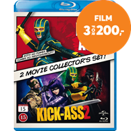 Kick-Ass Samleboks (BLU-RAY)