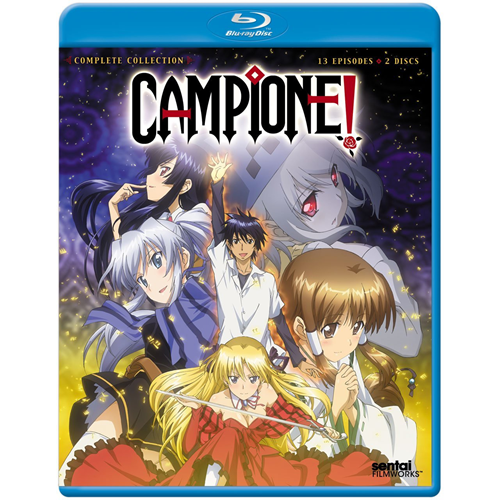 Campione! - Complete Collection (BLU-RAY)