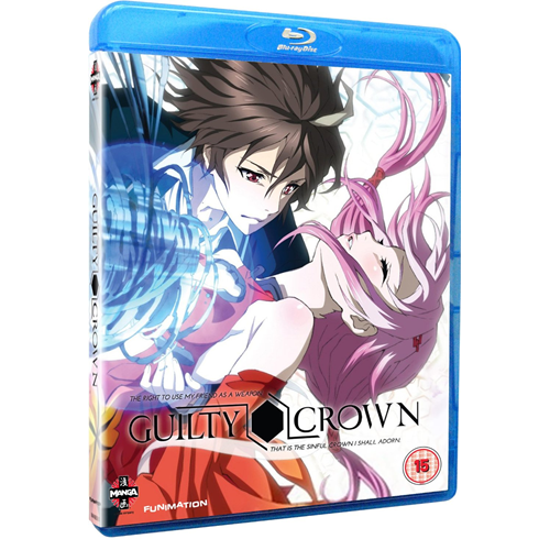 Guilty Crown - Series 1 Part 1 (UK-import) (BLU-RAY)