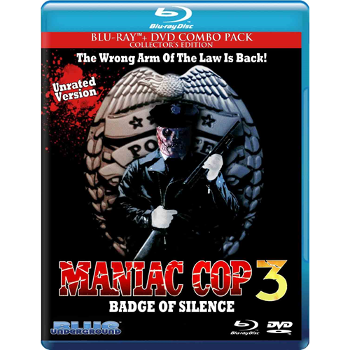 Maniac Cop 3 - Badge Of Silence (BLU-RAY)