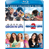 Grown Ups 1 & 2 (BLU-RAY)