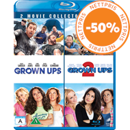 Produktbilde for Grown Ups 1 & 2 (BLU-RAY)