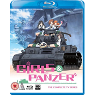 Girls Und Panzer - Complete TV Series (UK-import) (BLU-RAY)