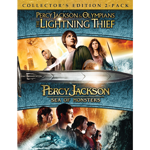 Percy Jackson - Lyntyven / Monsterhavet (BLU-RAY)