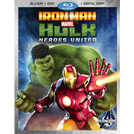 Iron Man & Hulk - Heroes United (BLU-RAY)