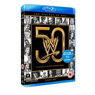 The History Of The WWE - 50 Years Of Sports Entertainment (UK-import) (BLU-RAY)