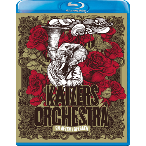 Kaizers Orchestra - En Aften I Operaen (BLU-RAY)