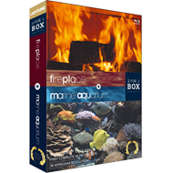 Fireplace & Marine Aquarium (UK-import) (BLU-RAY)