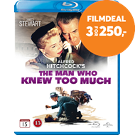 Produktbilde for The Man Who Knew Too Much (BLU-RAY)