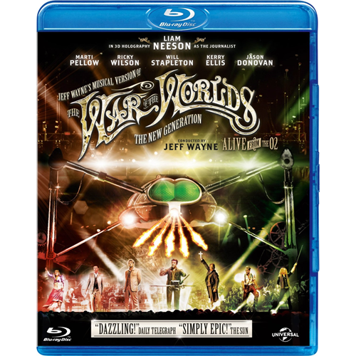 Jeff Wayne's Musical Version Of The War OfTthe Worlds - The New Generation: Alive From O2 (UK-import) (BLU-RAY)